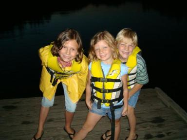 My three little monkeys!